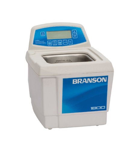 Branson CPX-952-118R Series CPXH Digital Cleaning Bath with Digital Timer and Heater, 0.5 Gallons Capacity, 120V