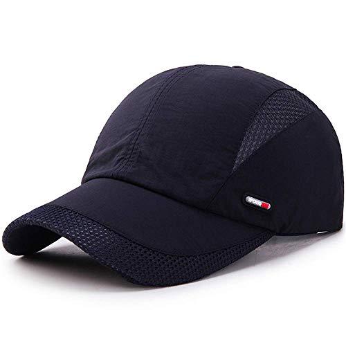 Memoryee Secado rápido al Aire Libre Gorra de Beisbol Personalizable Ajustable Hombres y Mujeres Malla Transpirable Sombrero para el Sol