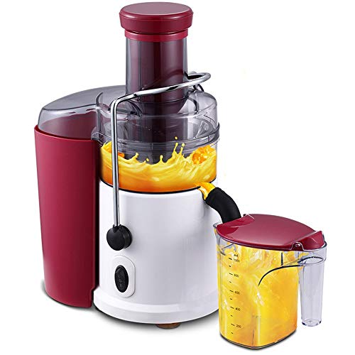 Juicer Machines Centrifugal Juice Extractor For Whole Fruit And Vegetables, BPA-Free, Dual Speed And Anti-drip And, Detachable Stainless Steel Citrus Juicer (Color : Red)