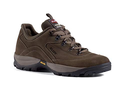 Olang® Chaussures basses en daim Bari Chaussures de chasse pour homme et femme Chaussures de travail imperméables Chaussures de trekking Chaussures d'extérieur Chaussures de loisirs