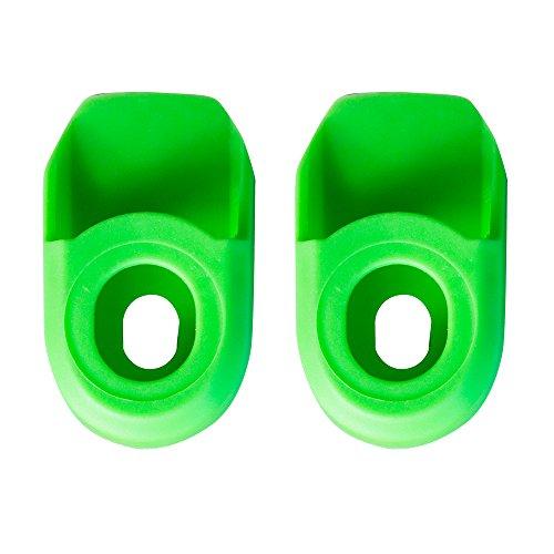 SB3 SBPEPRO2 Paire de Protections de manivelle Mixte Adulte, Vert