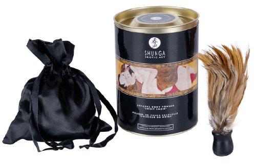 Shunga Polvos de Miel y Fresas con Champagne, Color Blanco - 228 gr