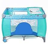 XYSQ Tragbares Baby-Reisebett, atmungsaktives Netzfenster, Baby-Spielgehege für Neugeborene und...