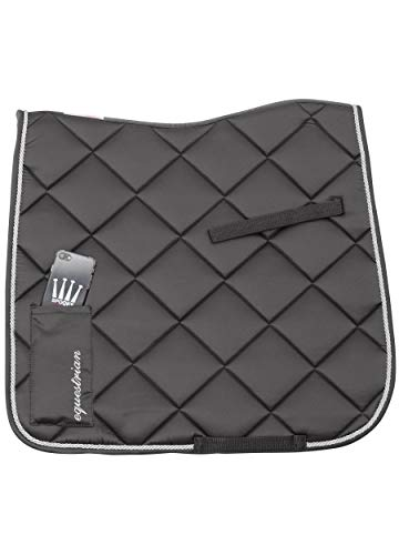 SPOOKS Dressage Pad Crown Mobile - DE (Farbe: grey; Größe: dressage)