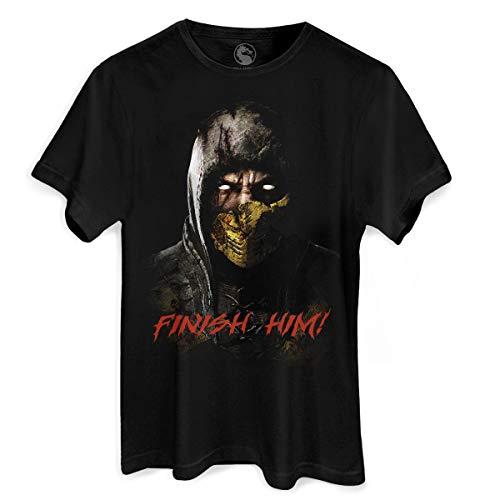 Camiseta Mortal Kombat X Finish Him