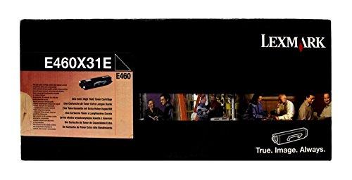 Lexmark Toner Black Pages 15.000, E460X31E (Pages 15.000)