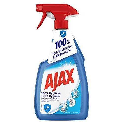 Ajax Allzweckreiniger - 100% Hygiene - 6er Pack (6 x 750ml)