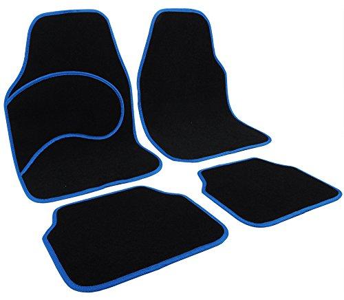 WOLTU Universal Auto Fußmatten Teppich Autoteppiche Stoffmatten AM7132