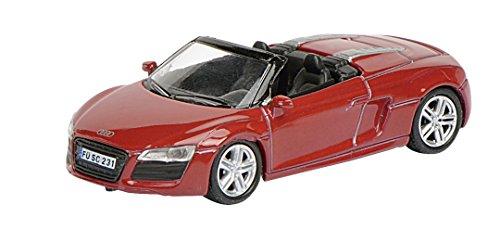 Schuco 452603300 - Audi R8 Spyder, 2012, Die-Cast, échelle 1:87, rouge