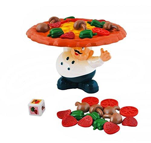 Pizzabäcker Gesellschaftsspiel f. Kinder + Erwachsene Geschicklichkeit Chef Koch
