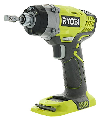 Ryobi One+ P236 18V 1/4 Inch 3,200 RPM 1,600 Inch Pounds Lithium Ion Cordless Impact Driver (Battery Not Included, Power Tool Only)(Renewed)