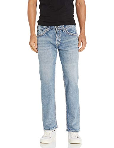 Silver Jeans Co. Men's Gordie Loose Fit Straight Leg...