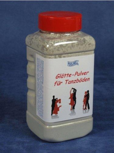 Poolwell Glätte-Pulver staubfrei für Tanzböden, Streudose, Inhalt: 1000 ml = 650 g