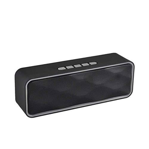 HKJZ SFLRW Altavoces portátiles de Bluetooth, Altavoz inalámbrico Sound Sound Sound Rich, Flotante Impermeable, 10 Horas, Bluetooth 5.0, Mic Incorporado para Camping al Aire Libre (Azul) (Color : B)