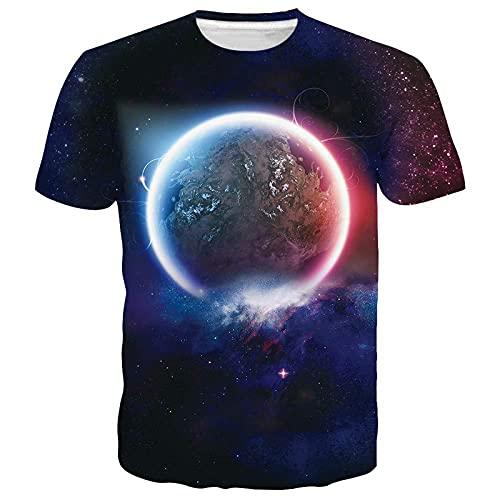 SSBZYES Camiseta para Hombre Camiseta De Talla Grande para Hombre Camiseta Estampada con Cuello Redondo Camiseta De Verano con Cobertura para Hombre Camiseta De Pareja Camiseta Superior
