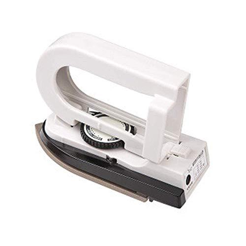 DFBGL Plancha de Vapor, Nueva Mini Plancha de Viaje portátil CE, Doble Voltaje, 3 regulación de Temperatura, Plancha de Vapor de Viaje Plegable para el hogar, Blanco