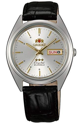 Orient Reloj Analógico para Unisex Adultos de Automático con Correa en Cuero FAB0000JW9