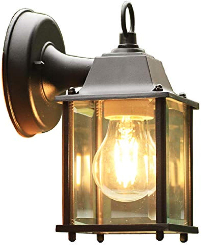 Waineg Amerikanische einfache Outdoor-Balkon Wasserdichte Wand Lampe Korridor Gang LED Outdoor-Garten Wand Licht E27 110v220v