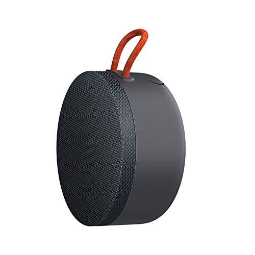 Mi Tragbarer Bluetooth-Lautsprecher 5.0, wasserdichter Bluetooth-Lautsprecher für den Außenbereich mit dynamischem Sound, unterstützt echte kabellose Stereo-Verbindung, Wiedergabezeit 10 Stunden, Grau
