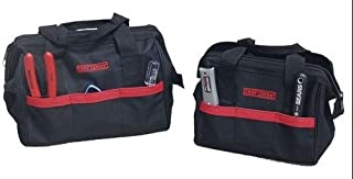 Craftsman Two-piece 12-inch and 10-inch Tool Bag Set.