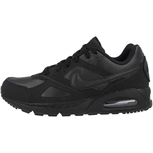 Nike Air Max Ivo Ltr - Black/Black-Black-Black, Größe:13