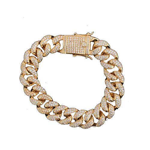 Moca Jewelry Metal Chapado en Oro de 18 Quilates