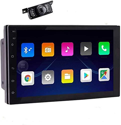EINCAR Doppel-DIN-Autoradio mit Bluetooth-7-Zoll-Android 10.0 Autoradio 2 DIN Hauptger?t FM Radio MP3-Player-Unterst¨¹Tzung kapazitiven Touch Screen GPS-Navigation AUX Freisprechen TelKonfig