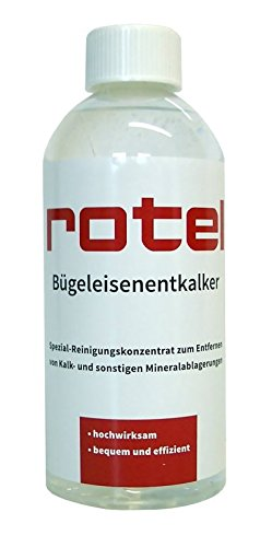 Rotel Bügeleisenentkalker 500 ml - Spezial Reinigungskonzentrat zum Entfernen von Kalk- und sonsitgen Mineralablagerungen