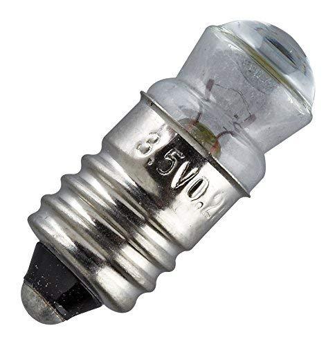 Rulke Rulke053501 3 stuks E 10 Lens Bulb, 3.5 V, 200 mA, Multi Kleur