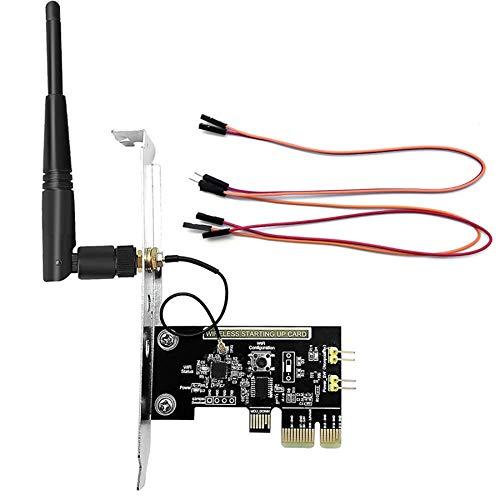 Cuasting Módulo de interruptor de relé WiFi EWelink APP Control remoto temporizador interruptor de la placa para encender/apagar computadora PC ajuste para Alexa