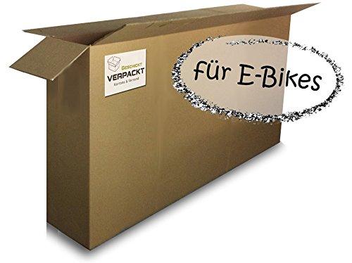 Großer Fahrrad-/E-Bike-Karton (1 Stk) 1800x250x1000mm sehr stabil 2.50 BC 2-wellig