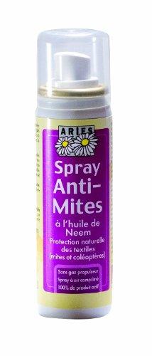 Aries - 4042Mitespr - Voyage et Balades - Spray Anti-Mites Textiles - 50 ml