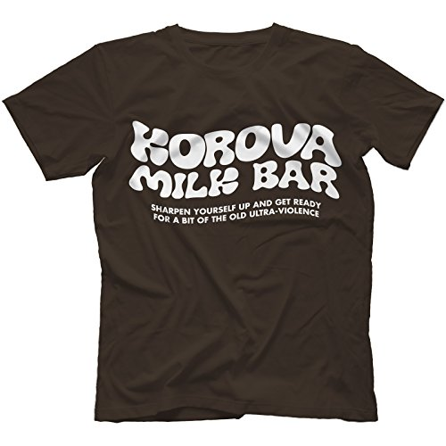Korova Milk Bar Camiseta 100% Algodon