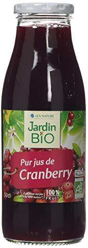 Jardin Bio Pur Jus de Cranberry 50 cl