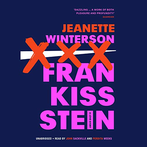 Frankissstein audiobook cover art