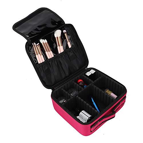 Professional MakeupTrain Case, Professional Multi-Function Cosmetics Makeup Brush Nail Tool Home Storage Bag Case Portable Makeup Bags Waterproof Toiletry Bag