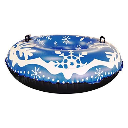 xiaowang - Tubo de trineo hinchable grueso para adultos y niños, gran cámara de aire para niños y adultos