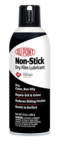 DuPont Teflon Non-Stick Dry-Film Lubricant Aerosol Spray, 10 Oz.