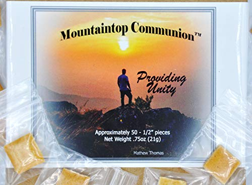 Individually Wrapped Gluten-Free Communion Bread (50 Count)