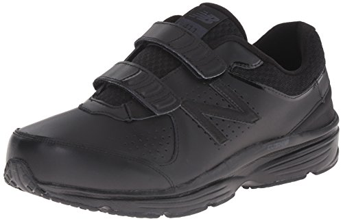 New Balance Men's MW411HK2 Walking Shoe, Black/Black, 11.5 D...