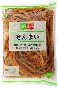 ヤマサン食品工業 嬉山菜ぜんまい 130gX10パック