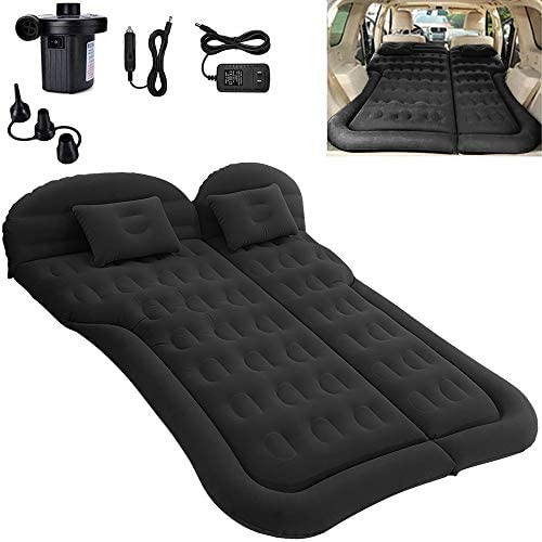 SAYGOGO SUV Air Mattress Camping Bed Cushion Pillow Inflatable Thickened Car Air Bed with Electric product image