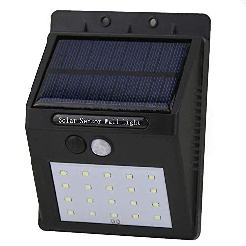 Lámpara de pared Luz nocturna automática de pared Detección de consumo de energía pequeño Detectores de movimiento Iluminación de alta sensibilidad Abs + Pc (Color: A, Tamaño: 5x1