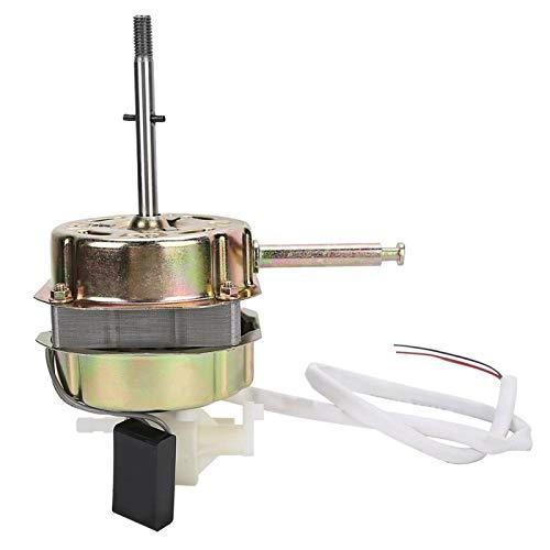Emoshayoga Motor del Ventilador Accesorio del Ventilador Motor del Ventilador con Condensador Rendimiento Estable y confiable, Duradero y Resistente al Desgaste para la Cocina del hogar
