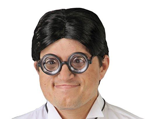 FIESTAS GUIRCA Gafas con Lentes Gruesas y un nigromante miope