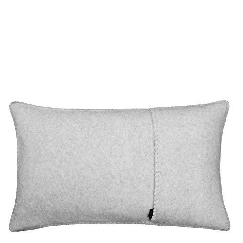 Soft-Wool-Kissenbezug – mit Häkelstich – weiche, hochwertige Sofa-Kissenhülle aus Naturmaterialien – 30x50 cm – 910 cloud – von 'zoeppritz since 1828'