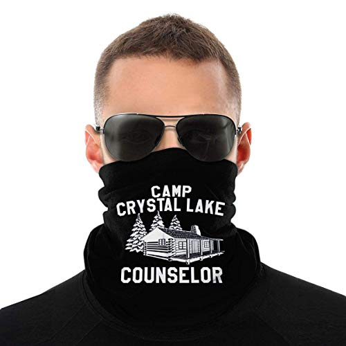 VVGETE Face Scarf Camp Crystal Lake...