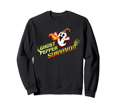 Ghost Pepper Survivor ~ Bhut Jolokia Würziger Pfeffer Chili Sweatshirt