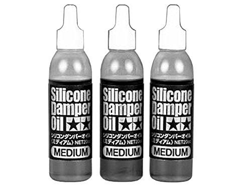 Tamiya 300053444 - Set de Aceite de amortiguación de Silicona Medio 500/600/700