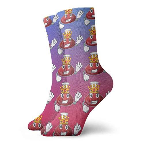 NGMADOIAN Grappige sokken, wijn, rood, karaf, sport, atleiek, winter, warm, 30 cm, lang, personaliseerbaar, cadeau